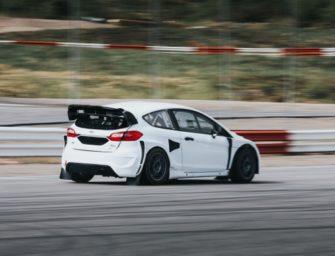 Første test med Supercar